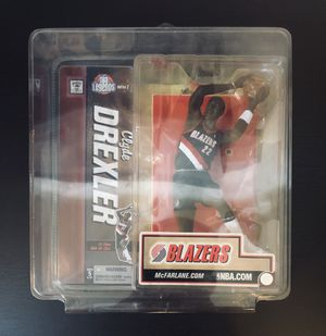 2006 Clyde Drexler Portland Trail Blazers NBA Basketball McFarlane Action Figure NBA Legends Series 2 - BRAND NEW! for Sale in Citrus Heights, CA