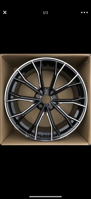 """Bmw 850i style new 20"""" m style rims tires set for Sale in Hayward, CA"""