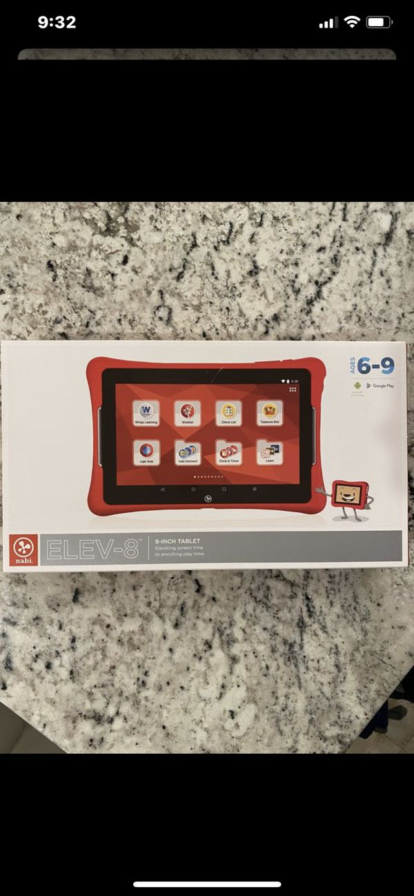 NABI KIDS LEARNING COMPUTER NEW IN BOX LEARNING TABLET IPAD