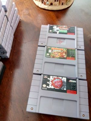 Super Nintendo games for Sale in Kent, WA