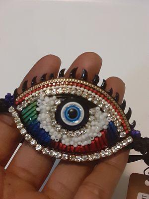 New evil eye adjustable bracelet for Sale in Yonkers, NY