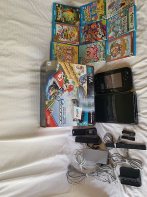 Nintendo Wii u, works great. 10 games, all cables included for Sale in Tamarac, FL