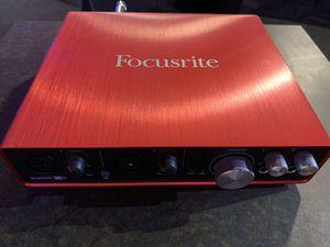 Focusrite Scarlett 6i6 Audio Interface for Sale in Murrieta, CA