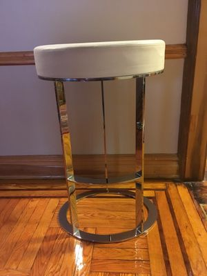 BB ITALIA LEATHER CHROME BARSTOOL for Sale for sale  Brooklyn, NY