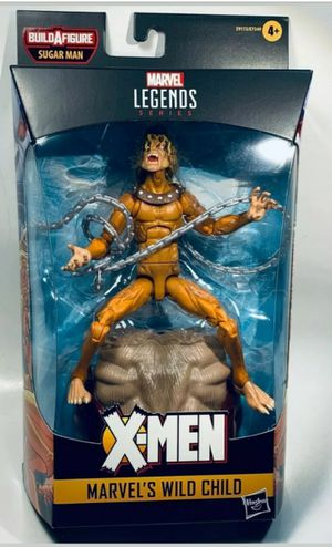Marvel Legends Wild Child Collectible Action Figure Toy with Sugarman Build a Figure Piece for Sale in Chicago, IL