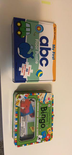 ABC Puzzle and Bingo Game for Sale in Aurora, CO