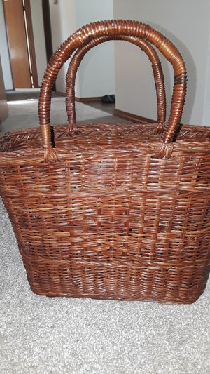 Wicker Bag for Sale in Federal Way, WA