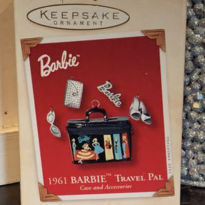 "Hallmark Barbie ""Travel Pal"" Ornament for Sale in Riverside, CA"