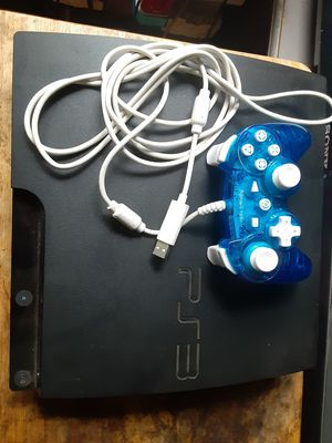 PS3 120GB Slim bundle with Free games for Sale in Washington, DC