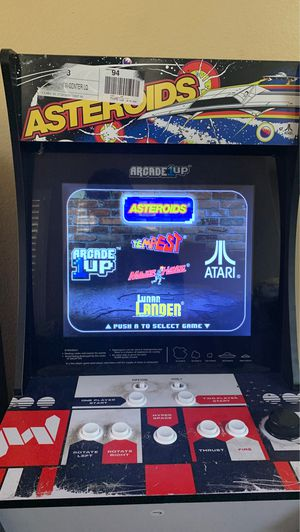 """Arcade 1UP """"Astroids"""" for Sale in Las Vegas, NV"""