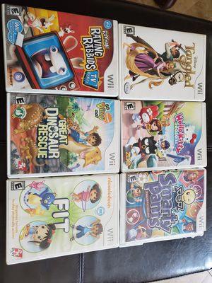 Wii games for kids for Sale in Henderson, NV