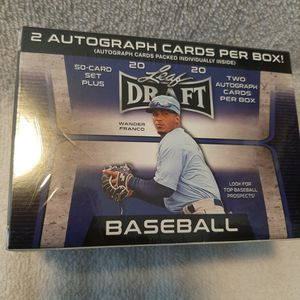 2020 LEAF DRAFT 50 CARDS SET PLUS TWO AUTOGRAPH CARDS for Sale in Poinciana, FL