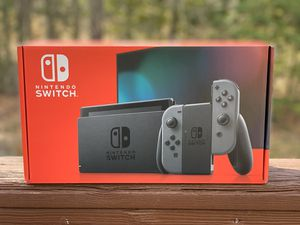 Nintendo Switch with Grey Joy Con for Sale in Alexandria, VA