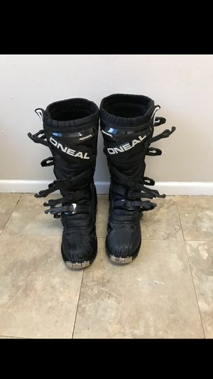 O'Neal dirt bike racing boots size 9 for Sale in Cleveland, OH