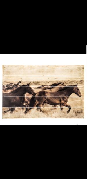 Wood Plank Horse Wall Decor from Hobby Lobby for Sale in Panama City Beach, FL