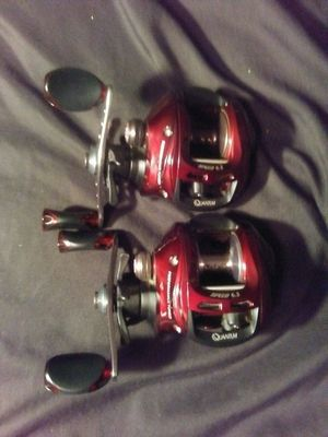 Quantum Kinetic baitcaster reels. Never used for Sale in North Royalton, OH