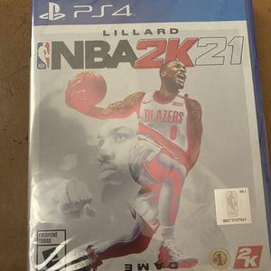 PS4 NBA 2K21 for Sale in Miami, FL