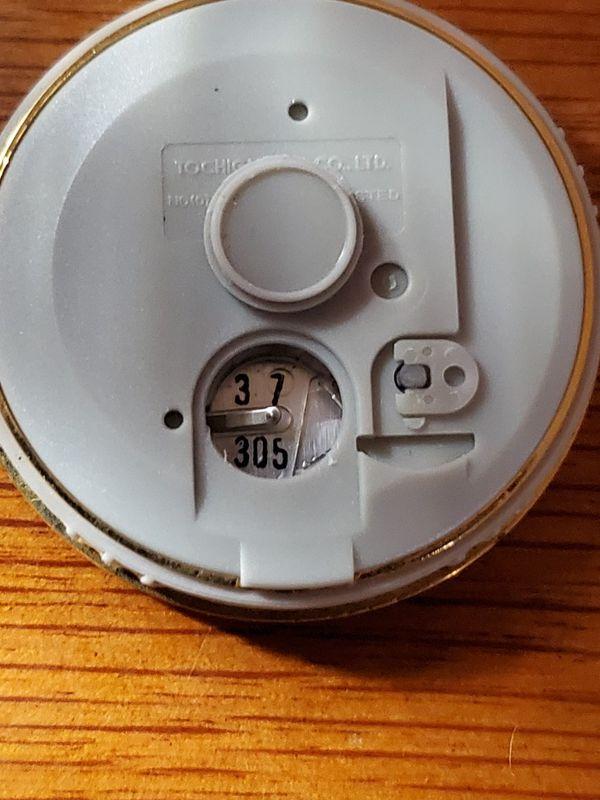 Vintage Waterford Crystal desktop grandfather clock needs battery works great $40 or best offer