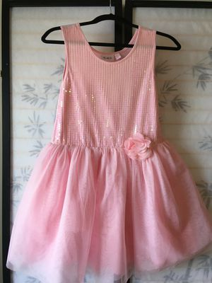 Children's Place Pink Sequin top dress for Sale in Kissimmee, FL