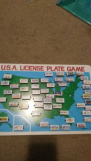 Melissa and Doug License Plate Game for Sale in OR, US