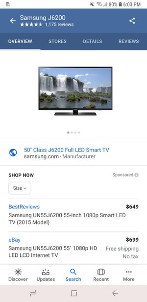 50in Flat screen TV for Sale in Baltimore, MD