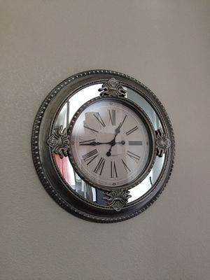 Mirror wall clock for Sale in North Las Vegas, NV