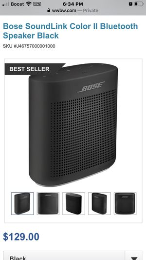 Bose Bluetooth speaker for Sale in Kissimmee, FL