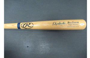 Edgar Martinez & Brett Boone Autographed Bat for Sale in Everett, WA