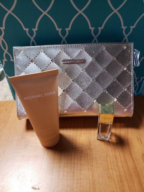 Mk Perfume,lotion and bag