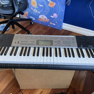 Casio KeyBoard $60 With Stand for Sale in San Jose, CA