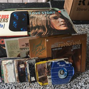 Assorted Vinyl Records From 60's And 70's There Are A Total Of 24; 45 Rpm And 48; 78 Rpms. In Original Jackets for Sale in Fort Myers Beach, FL