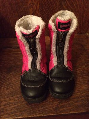 Pediped Kids' snow boots - almost new for Sale in Maplewood, NJ