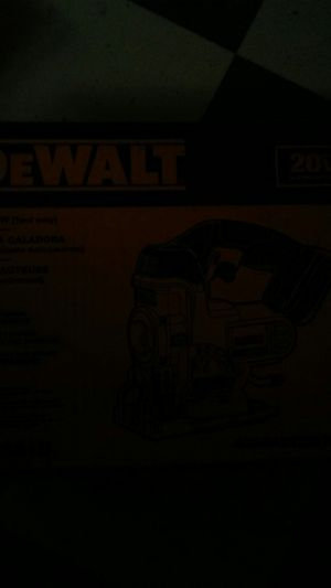 Dewalt 20v jig saw for Sale in Murfreesboro, TN