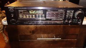 Onkyo quartz amplifier/tuner for Sale in Virginia Beach, VA