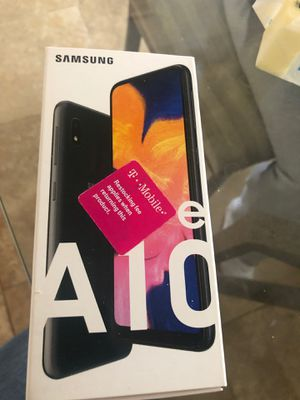 Brand new in box on opened Samsung galaxy A10e for Sale in Phoenix, AZ