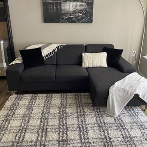 Grey Sectional Couch With Or Without Accessories for Sale in Gallatin, TN