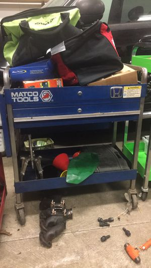 Matco locking tool cart for Sale in Gambrills, MD