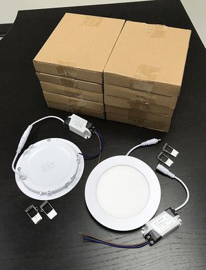 "$55 NEW (set of 10pcs) Round 5"" LED Recessed Ceiling Light 9W Lighting Fixture Lamp for Sale in Whittier, CA"