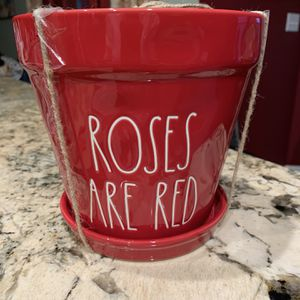 Rae Dunn Valentines Flower Pot for Sale in Fort Worth, TX