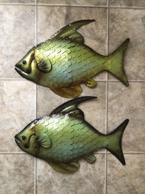 Fish wall decor for Sale in Colesville, MD