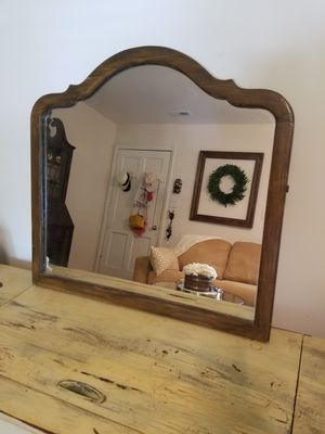 Heavy large vintage mirror for Sale in Cary, NC