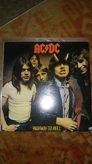 AC-DC original highway to hell record for Sale in Ashley, OH