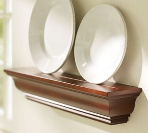 Pottery barn wall shelves shelf x3 Crown Molding Ledge for Sale in Chicago, IL