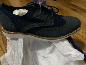 Men's size 11 dress shoes, dockers brand also men pair of Nike size 11 and white pair of Levi's 37x32 for Sale in Hiram, GA