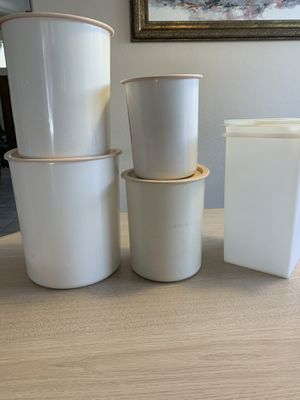 Tupperware canisters for Sale in Peoria, AZ