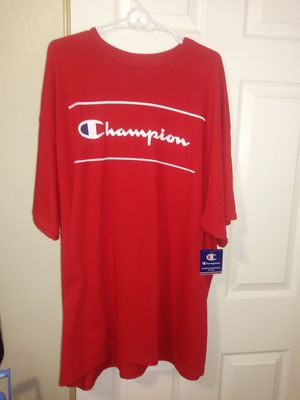 NEW MENS 3X CHAMPION TEE for Sale in Fresno, CA