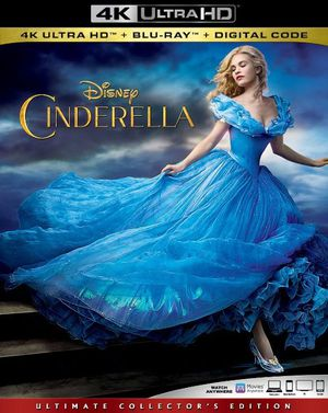 Cinderella Live Action 4K UHD Digital Movie Code for Sale in Fort Worth, TX
