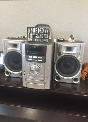 Sony sound system stereo for Sale in El Cajon, CA