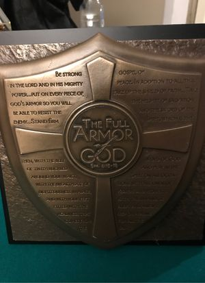 Armor of God sculpture plaque Christian for Sale in Pompano Beach, FL
