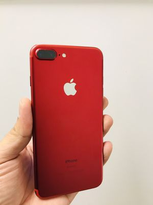 IPhone 7 Plus Red 128gig unlocked for Sale in Phoenix, AZ